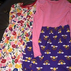 2 Hanna Andersson Dresses - New